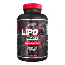 Nutrex Lipo6 Black 120 капс