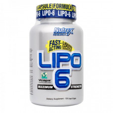 Nutrex Lipo6 120 капс