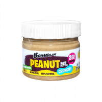 BombBar Арахисовая паста 300 гр (Crunchy)