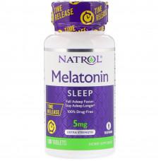 Natrol Melatonin TR 5 мг 100 таб