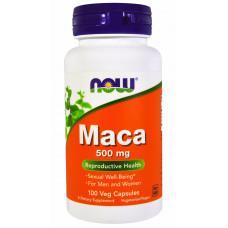 NOW Maca 500 мг 100 вег капс