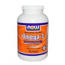 NOW Omega-3 1000 мг 500 капс